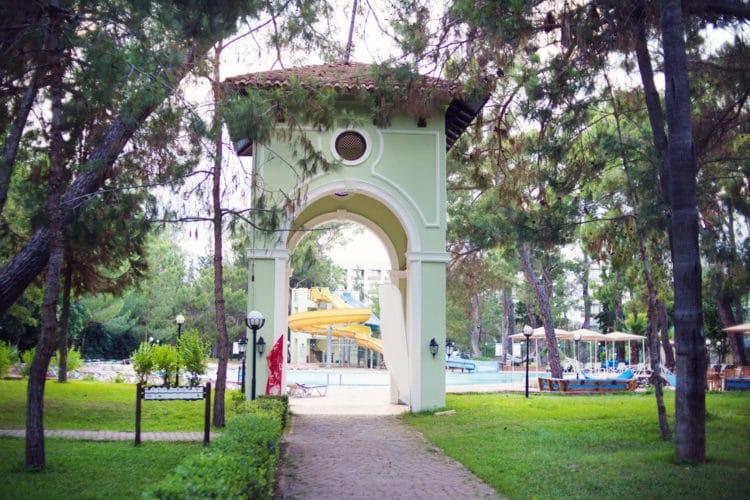 Парк «Лунный свет» - достопримечательности Кемера