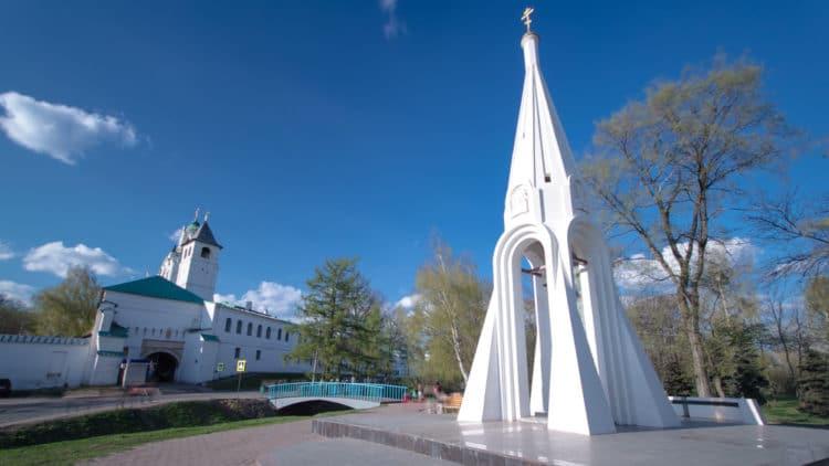 Часовня Казанской Богоматери - достопримечательности Ярославля