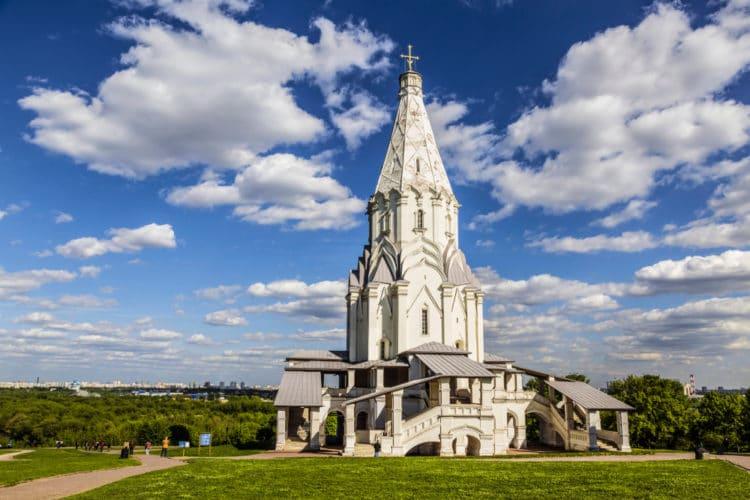 Церковь Вознесения в Коломенском - достопримечательности Москвы