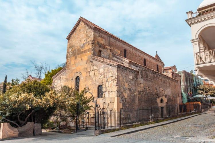 Церковь Анчисхати - достопримечательности Тбилиси