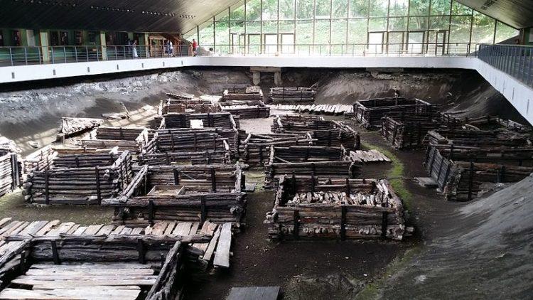 Археологическая экспозиция «Берестье» - достопримечательности Бреста