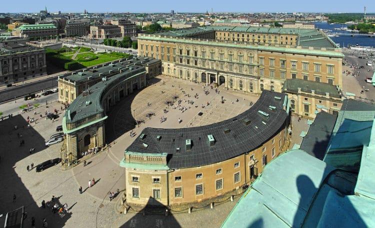 Королевский дворец - достопримечательности Стокгольма