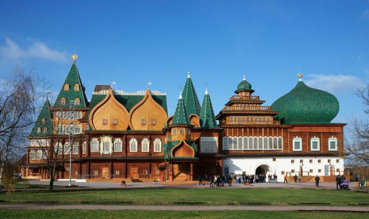 Коломенский дворец - достопримечательности Москвы