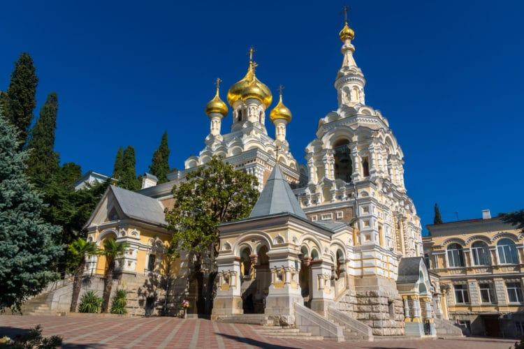 Собор Александра Невского - достопримечательности Ялты