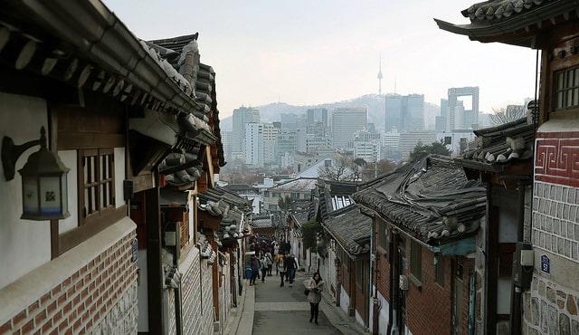 Деревня Букчон - достопримечательности Сеула