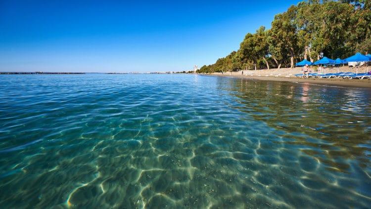 Пляж Дасуди - достопримечательности Лимассола