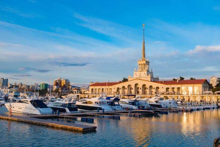 Самые красивые города России - Сочи