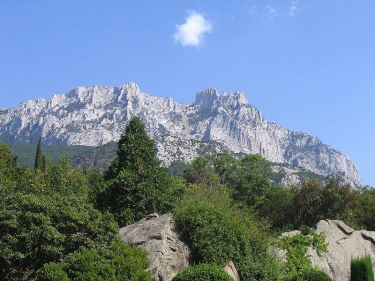 Гора Ай-Петри - достопримечательности Крыма