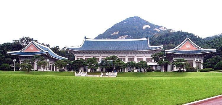 Президентская резиденция Чхонвадэ - достопримечательности Сеула