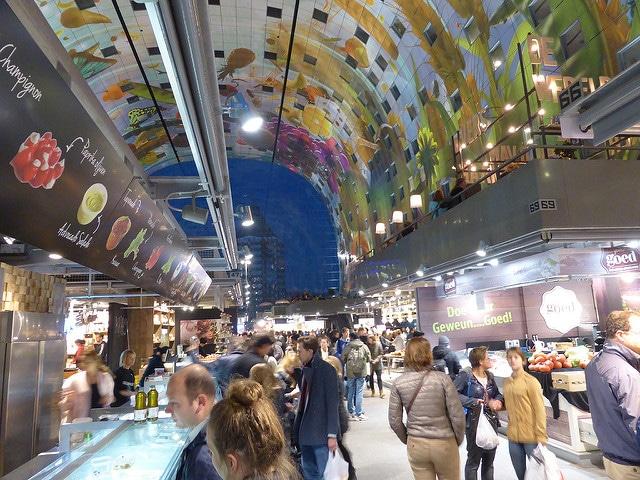 Рынок «Markthal» - достопримечательности Роттердама