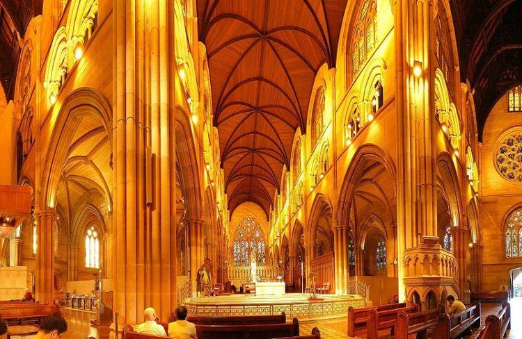 Собор Девы Марии - достопримечательности Сиднея