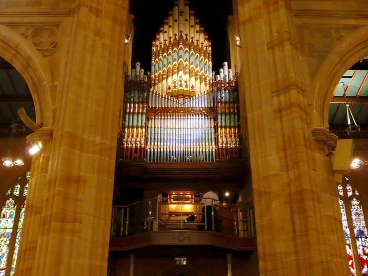 Собор Святого Андрея - достопримечательности Сиднея