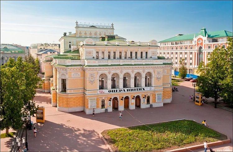 Нижегородский театр драмы - достопримечательности Нижнего Новгорода