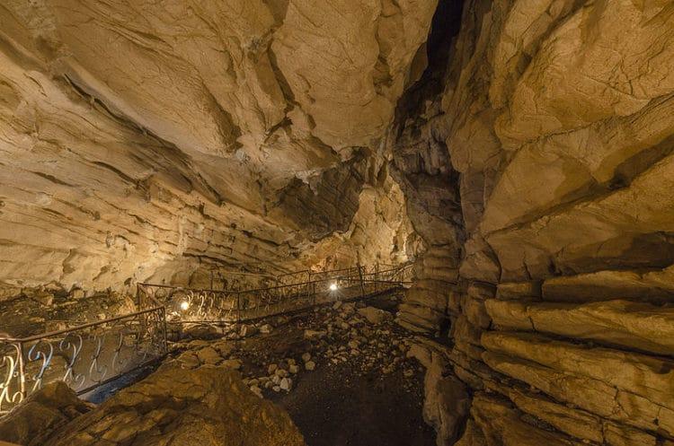 Воронцовские пещеры - достопримечательности Сочи