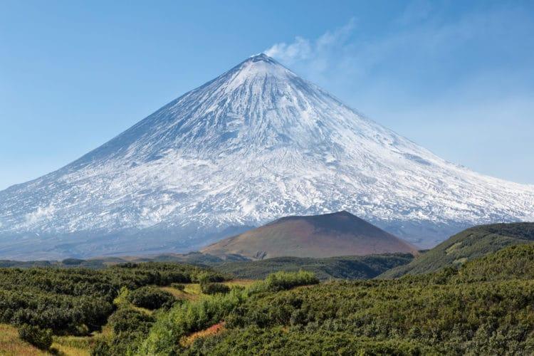 Вулкан Ключевская сопка - достопримечательности Камчатки