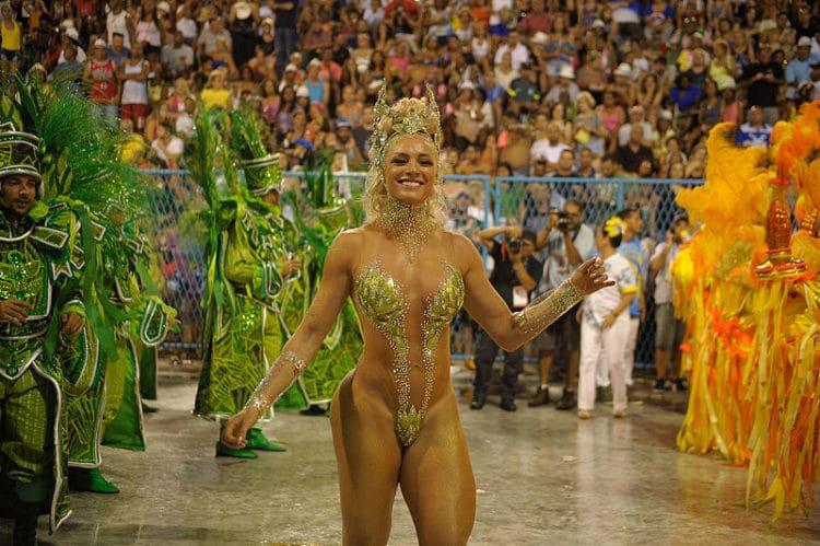 Карнавал - достопримечательности Рио-де-Жанейро