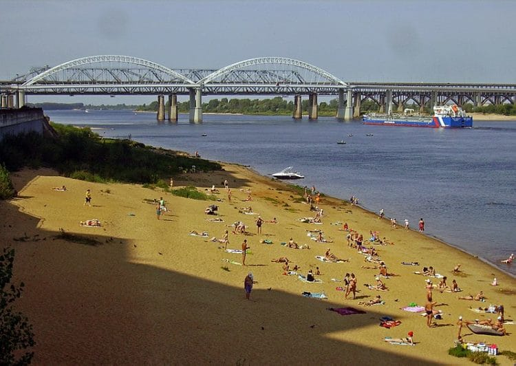 Река Волга - Что посмотреть в Нижнем Новгороде