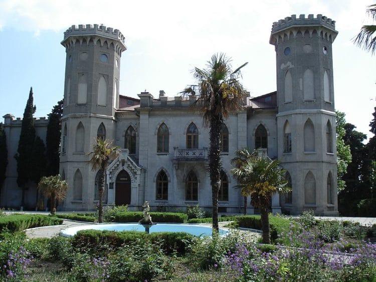 Дворец Гаспра - достопримечательности Ялты