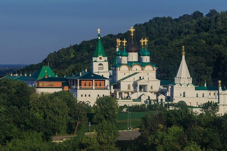 Печерский Вознесенский монастырь - достопримечательности Нижнего Новгорода