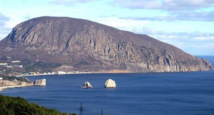 Медведь-гора (Аю-Даг) - достопримечательности Крыма