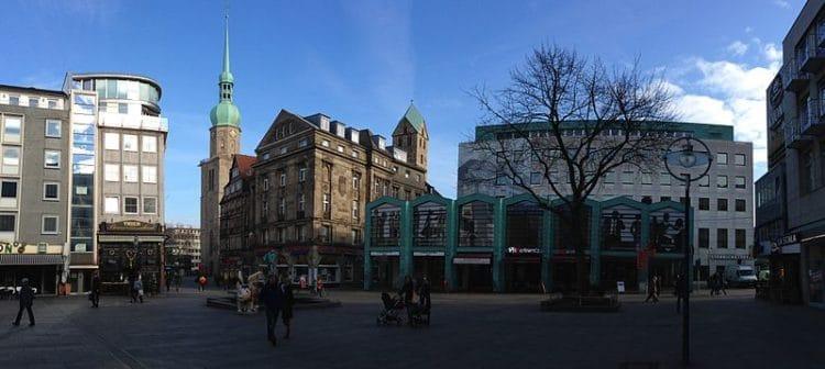 Старый рынок - достопримечательности Дортмунда