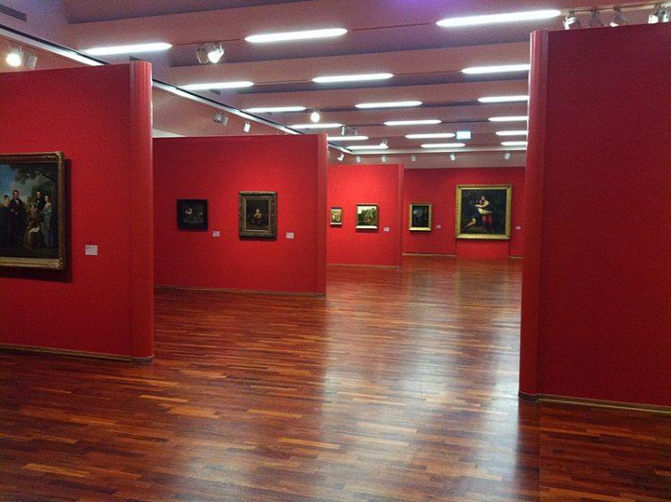 Музей Кунстпаласт - достопримечательности Дюссельдорфа