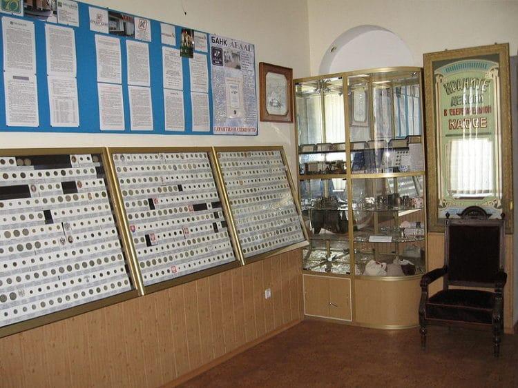 Музей денег - достопримечательности Феодосии