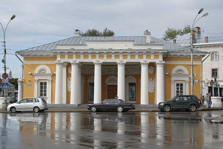 Гауптвахта - достопримечательности Костромы