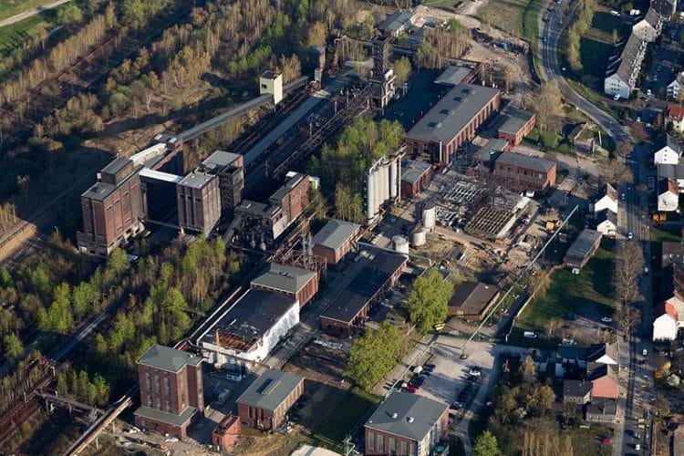 Коксовый завод «Ганза» - достопримечательности Дортмунда