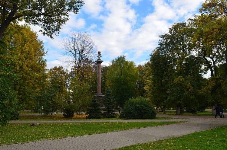 Демидовский сад - достопримечательности Ярославля