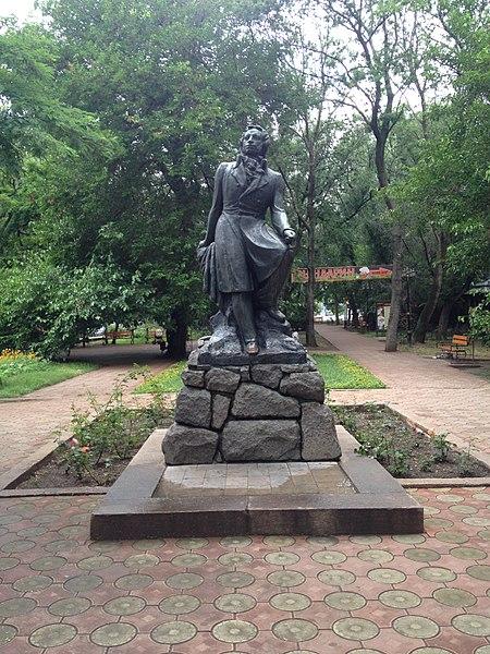 Памятник Александру Пушкину - достопримечательности Феодосии