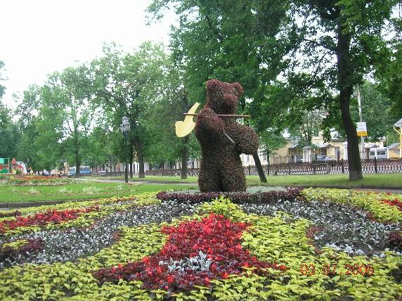 Медвежьи места Ярославля - достопримечательности Ярославля