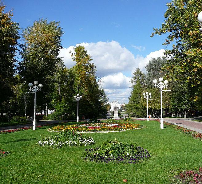 Городской сад - достопримечательности Твери