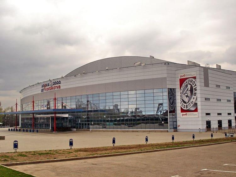 Арена 2000 - достопримечательности Ярославля