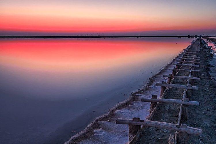 Озеро Сасык-Сиваш - достопримечательности Евпатории