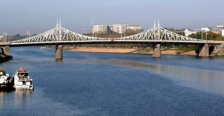 Староволжский мост - Что посмотреть в Твери