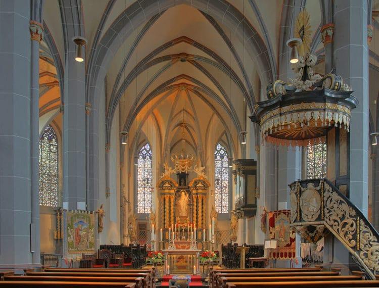 Базилика Святого Ламберта - достопримечательности Дюссельдорфа