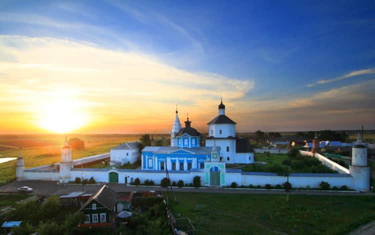 Бобренев монастырь - достопримечательности Коломны