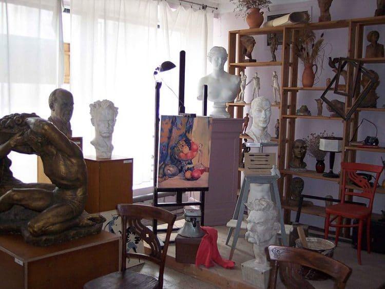 Музей скульптора Веры Мухиной - достопримечательности Феодосии
