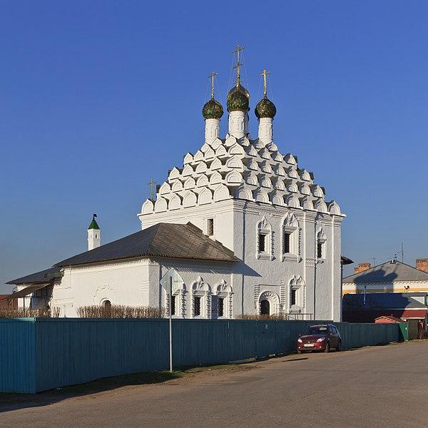 Храм Николы на Посаде - достопримечательности Коломны