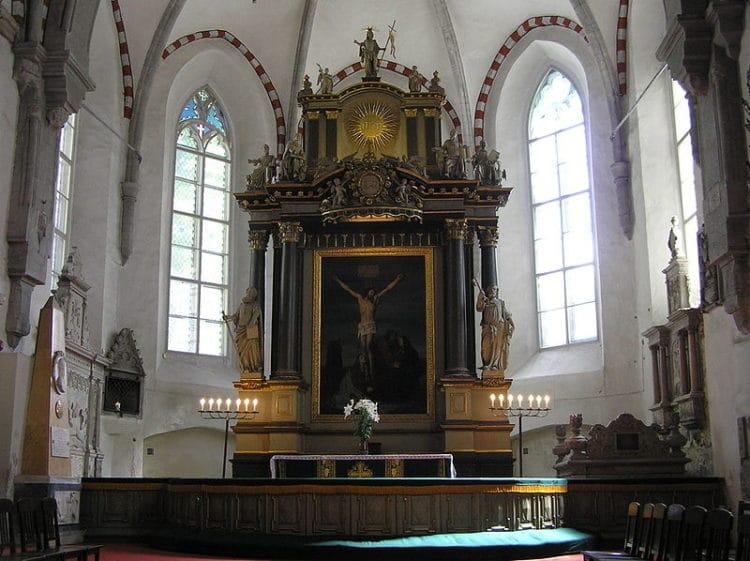 Домский собор - достопримечательности Таллина