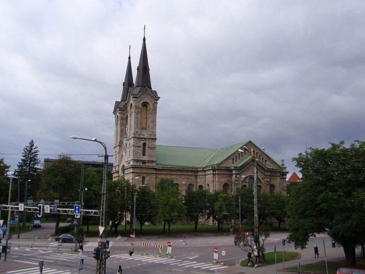 Церковь Каарли - достопримечательности Таллина
