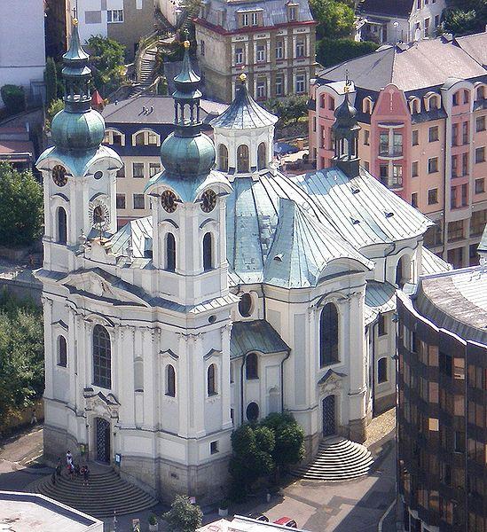 Костёл Св. Марии Магдалины - достопримечательности Карловых Вар