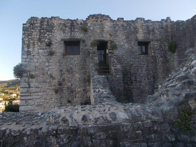 Замок Кассиопи - достопримечательности Корфу