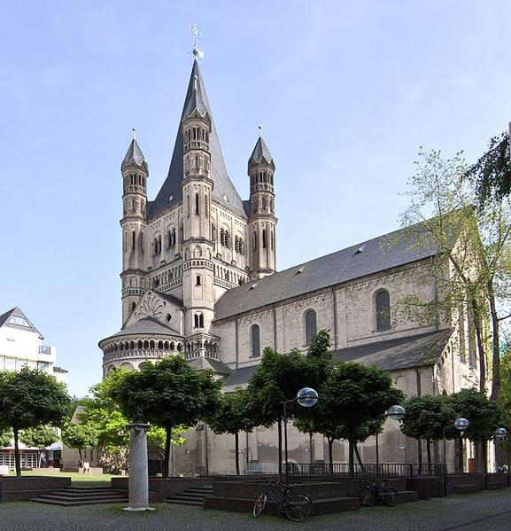 Церковь Большой Святой Мартин - достопримечательности Кёльна