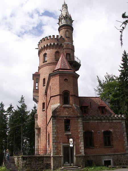 Обзорная башня Гёте - достопримечательности Карловых Вар