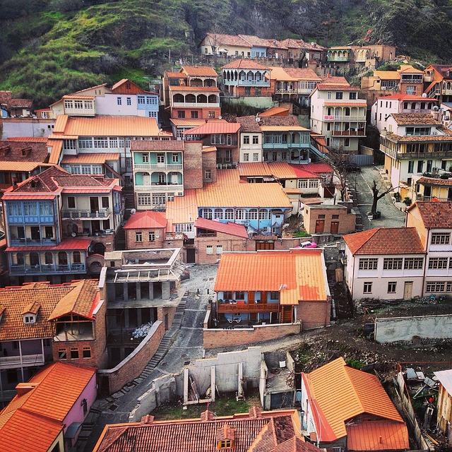 Старый город Тбилиси - достопримечательности Тбилиси