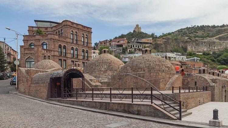 Серные бани (Абанотубани) - достопримечательности Тбилиси
