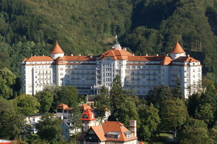 Отель «Империал» - достопримечательности Карловых Вар