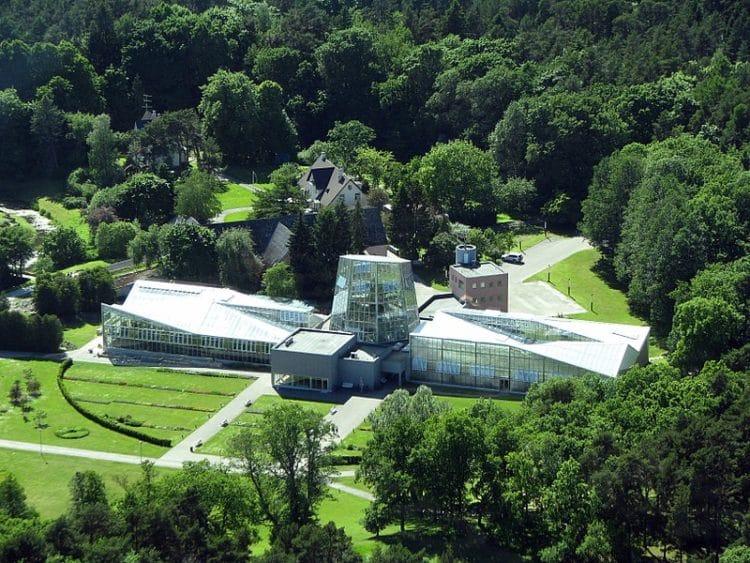 Ботанический Сад - достопримечательности Тпллина